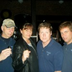 Ron Kolek, me, Jim Stonier and Clay Rucker of the New England Ghost Project